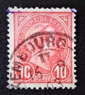 GRAND-DUC ADOLPHE 1ER 1895 - OBLITERE - YT 73 - 1895 Adolphe Right-hand Side