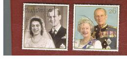 GRAN BRETAGNA.GREAT BRITAIN -  SG 2011.2012  -  1997   ROYAL GOLDEN WEDDING  - USATI - 1952-.... (Elisabetta II)
