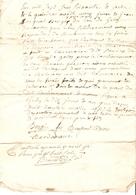 Vieux Papier Du Béarn, 1776, Les Bergés De Gelos S'engagent à Payer Les Frais Du Maquignon Castagnet Pour 2 Chevaux - Documents Historiques