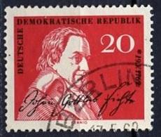 Allemagne Démocratique - Germany - Deutschland 1962 Y&T N°603 - Michel N°890 (o) - 20p J Gottlieb - [6] République Démocratique