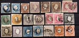 Portugal Belle Collection D'anciens 1855/1880. Nombreuses Bonnes Valeurs. A Saisir! - Collections