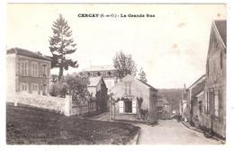 Villecresnes   (94 - Val De Marne)   Cercay - La Grande Rue - Villecresnes