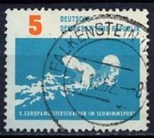 Allemagne Démocratique - Germany - Deutschland 1962 Y&T N°620 - Michel N°907 (o) - 5p Nage Libre - [6] République Démocratique