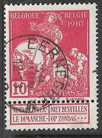 9W-952: EERNEGHEM: N°91: E11 - 1910-1911 Caritas