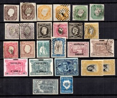 Portugal Belle Collection D'anciens 1862/1930. Nombreuses Bonnes Valeurs. A Saisir! - Portugal
