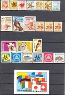 Nicaragua - 1958 à 1993 - Lot Timbres Et BF Neufs Et Oblitérés Nºs Dans Description - Nicaragua