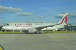 Qatar Airways Company A320-214 A7-LAA At London - 1946-....: Era Moderna