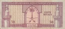 50 Riyals 1967 Très Rare - Saoedi-Arabië