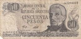 50 Pesos - Argentine