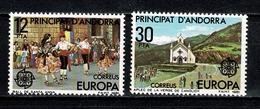 Andorra 1981 EUROPA Yv.131/32**,  Mi 138/39**  Cat. Yv. € 1,00 - Nuevos