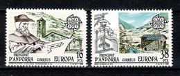 Andorra 1983 EUROPA Yv.158/59**,  Mi 165/66**  Cat. Yv. € 1,00 - Nuevos