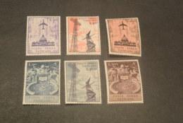K20174 - Set  MNH Vatican City 1967 - SC. C47-52 - Aerea Airmail - Poste Aérienne