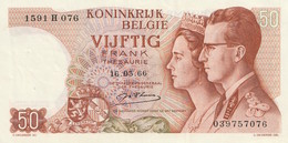 50 Francs 1966 - [ 6] Staatskas