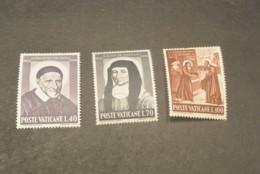 K20188- Set MNH Vatican City 1960 - SC. 295-297 - Death Of ST.Vincent De Paul - Vatican