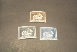 K20198 - Set MNH Vatican City 1960 - SC. 292-294 - Holy Family By Van Honthorst - Vatican