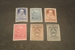 K20204 - Sets MNH Vatican City 1960 - SC.  269-274 - ST.Antonius And Lateran Basilica - Vatican