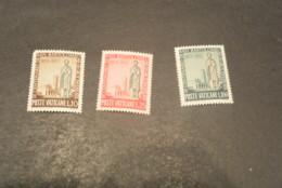 K20211 - Set MNH  Vatican City 1955 - SC.  200-202 - ST. Bartolomeo - Vatican