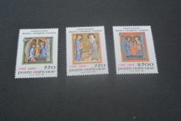 K20258 -set  MNH  Vatican City 1989 - SC. 826-828 - Illuminations - Nuovi