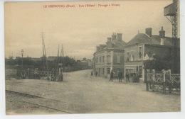 LE NEUBOURG - Rue D'Elbeuf - Passage à Niveau - Le Neubourg