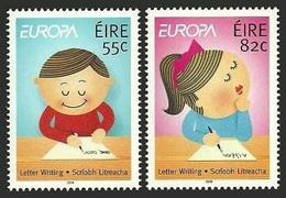 IRELAND 2008 EUROPA THE LETTER ANIMATION CARTOONS CHILDREN SET MNH - 1949-... Republic Of Ireland