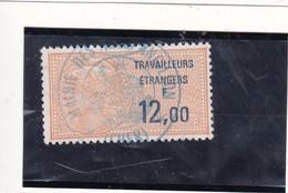 T.F  Travailleurs Etrangers N°11a - Fiscaux
