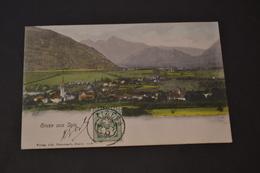 Carte Postale 1905 Suisse Gruss Aus Igis - Suisse