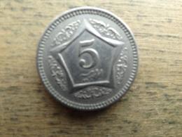 Pakistan  5  Rupees   2006  Km 65 - Pakistan
