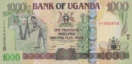 Ouganda / 100 Shillings / 2005 / P-43(a) / UNC - Uganda
