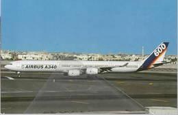 Airbus Industrie PROTOTIPO A340-642 N 600 Testbed Demo At Dubai - 1946-....: Era Moderna