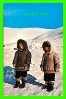 GRAND NORD CANADIEN, QUÉBEC - LA FAMILLE EST LA PLUS BELLE DES ÉQUIPES ! - OEUVRE MISSIONNAIRE DES ENFANTS - - Territoires Du Nord-Ouest