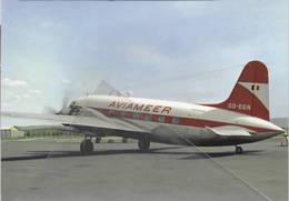 Aviameer Airlines Belgio OO-EEN Vickers 610 Viking 1B At Basilea - 1946-....: Era Moderna