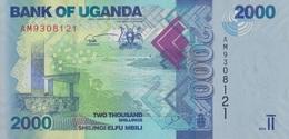Ouganda / 2000 Shillings / 2010 / P-50(a) / UNC - Uganda