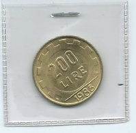 MN102 ITALIA 1988 L.200 - 1946-… : Repubblica
