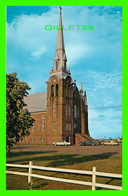 SHIPPEGAN, NB - ÉGLISE ST JEROME DE SHIPPEGAN - LEN LEIFFER - - Nouveau-Brunswick