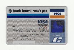 Bank Leumi ISRAEL 1988 OLYMPIC GAMES VISA Expired 1989 - Geldkarten (Ablauf Min. 10 Jahre)
