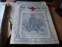 Glasnik Podmladka Crvenog Krsta  Junior Red Cross News  Beograd 1924 16 Pages S Kraljem Kroz Albaniju - Books, Magazines, Comics