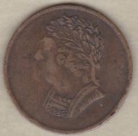 Canada . Half Penny Token 1820 . Buste Et Harpe. - Canada