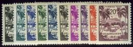 Guadeloupe. Sc #J38-J47. Postage Due. Mint. ** - Guadeloupe (1884-1947)