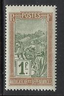 MADAGASCAR 1908 YT 108** - Neufs
