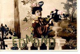 Illustrateur : Art Nouveau: Edmond - Künstlerkarten