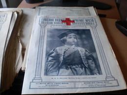 Glasnik Podmladka Crvenog Krsta  Junior Red Cross News  Beograd 1925 16 Pages Nj K V Naslednik Prestola Petar U Crnogors - Books, Magazines, Comics