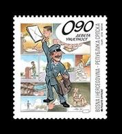 Bosnia And Herzegovina (Serbian) 2018 Mih. 772 Ninth Art. Comics MNH ** - Bosnia Erzegovina