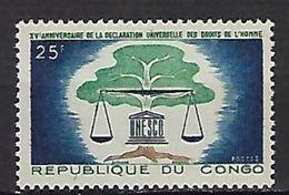 """Congo YT 158 """" Droits De L'Homme """" 1963 Neuf** - Neufs"""