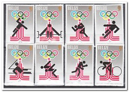 Belize 1980, Postfris MNH, Olympic Games - Belize (1973-...)