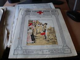 Glasnik Podmladka Crvenog Krsta  Junior Red Cross News  Beograd 1925 16 Pages Dobrotom R F Magjera - Books, Magazines, Comics