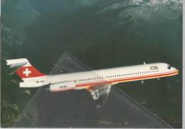 CTA Compagnie De Trasport Aeren McDonnell Douglas MD-87 HB-IUB Swiss - 1946-....: Era Moderna