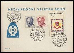 Czechoslovakia Brno 1968 / International Fair - Mezinarodni Veletrh - Expositions Universelles