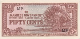 BILLETE DE JAPON DE 50 CENTS JAPANESE GOBERNMENT  (BANKNOTE) SIN CIRCULAR-UNCIRCULATED - Japón