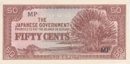 BILLETE DE JAPON DE 50 CENTS JAPANESE GOBERNMENT  (BANKNOTE) SIN CIRCULAR-UNCIRCULATED - Japan
