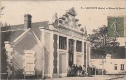 A11- 36) LEVROUX (INDRE)  MAISON DU PEUPLE - (ANIMEE - 2 SCANS) - France